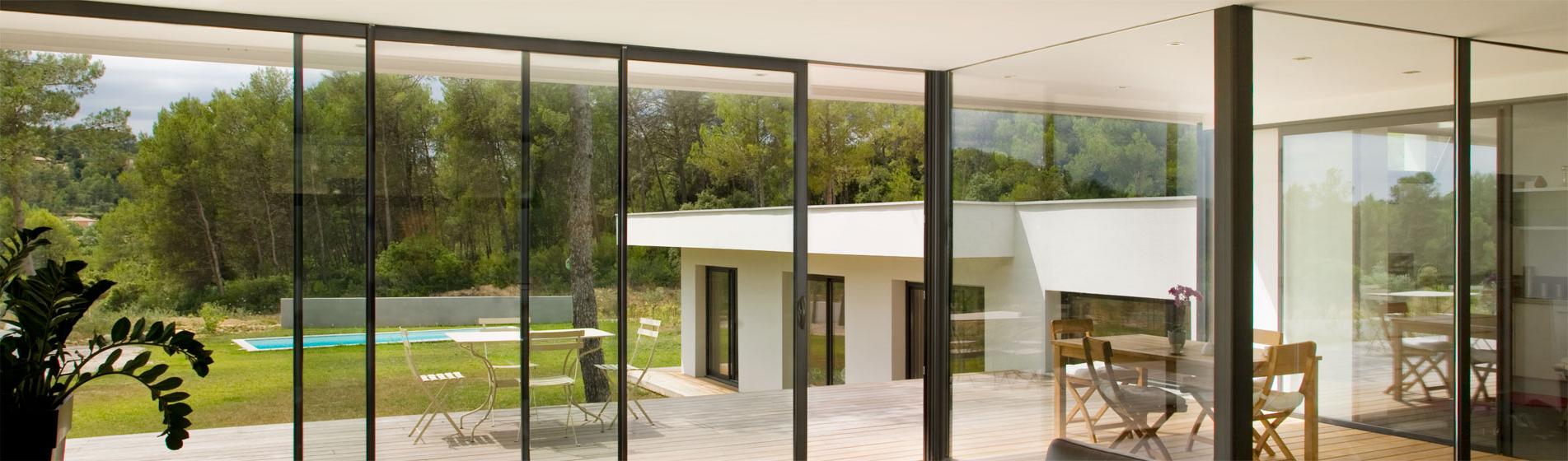 fabricant baie vitrée sur-mesure 13 Bouches-du-Rhône