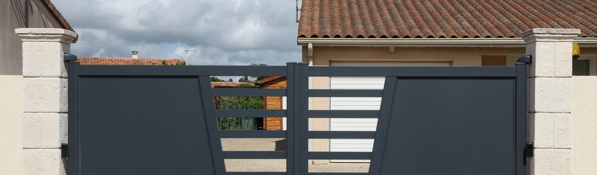 rénovation portail battant avec portillon 30 Gard