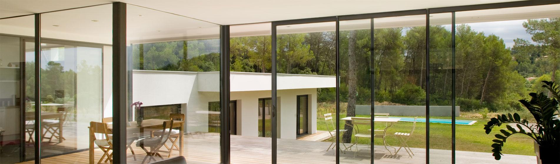 fabricant baie vitrée sur-mesure 84 Vaucluse
