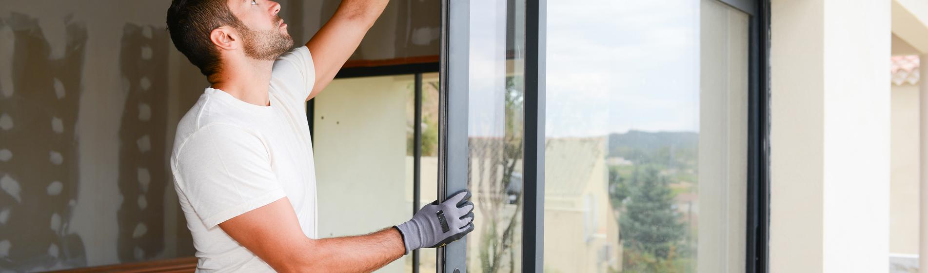 pose baie vitrée coulissante 30 Gard