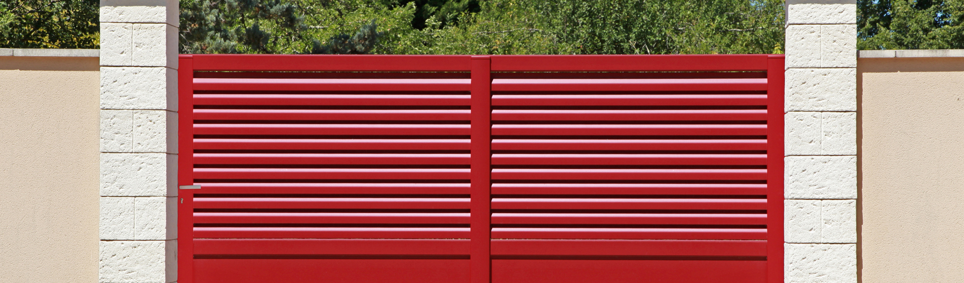 installer portail battant alu 30 Gard