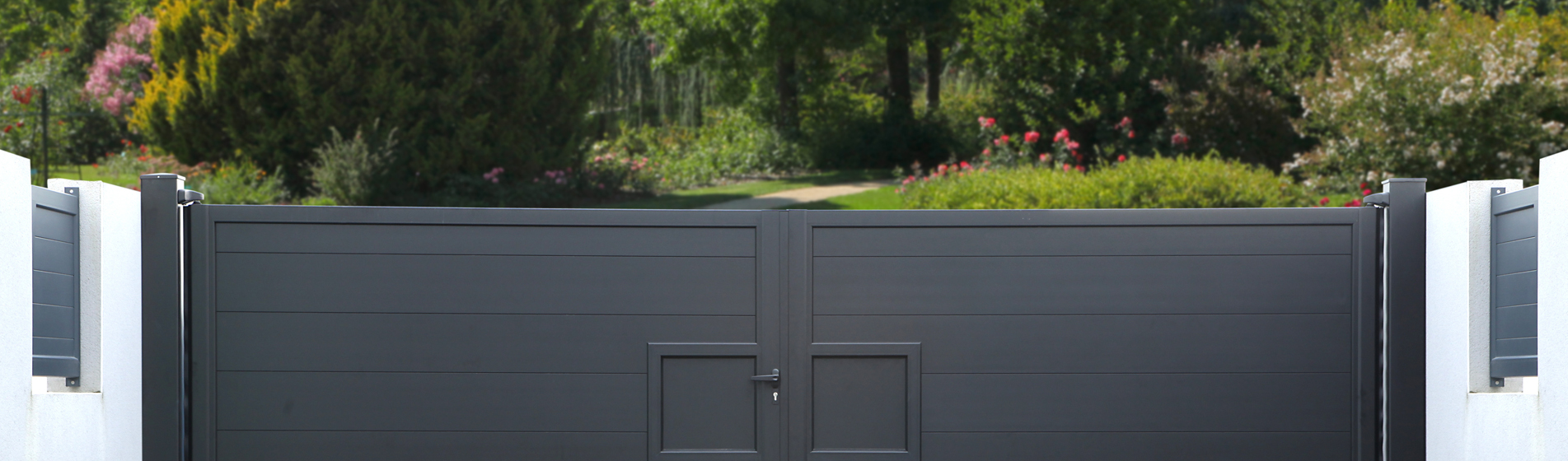 acheter portail battant avec portillon 30 Gard