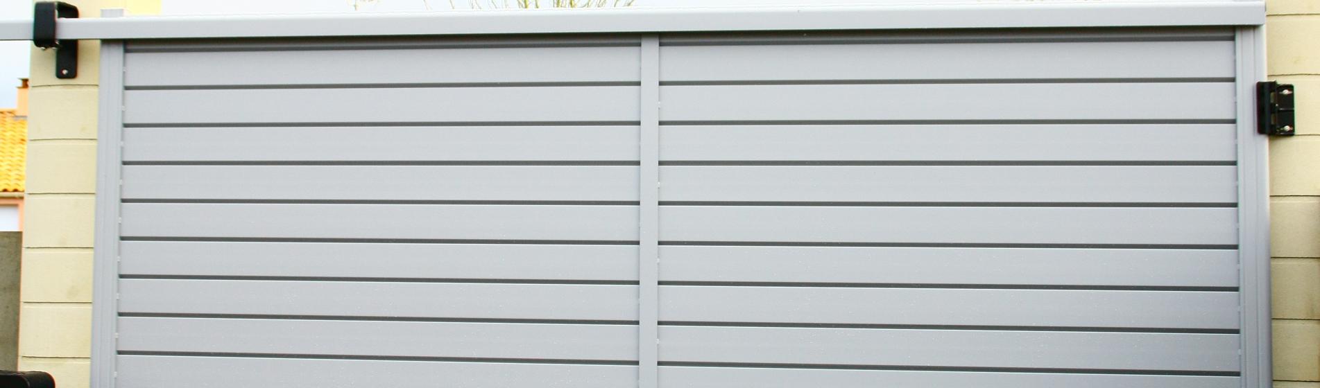 fabricant portail coulissant avec portillon 30 Gard