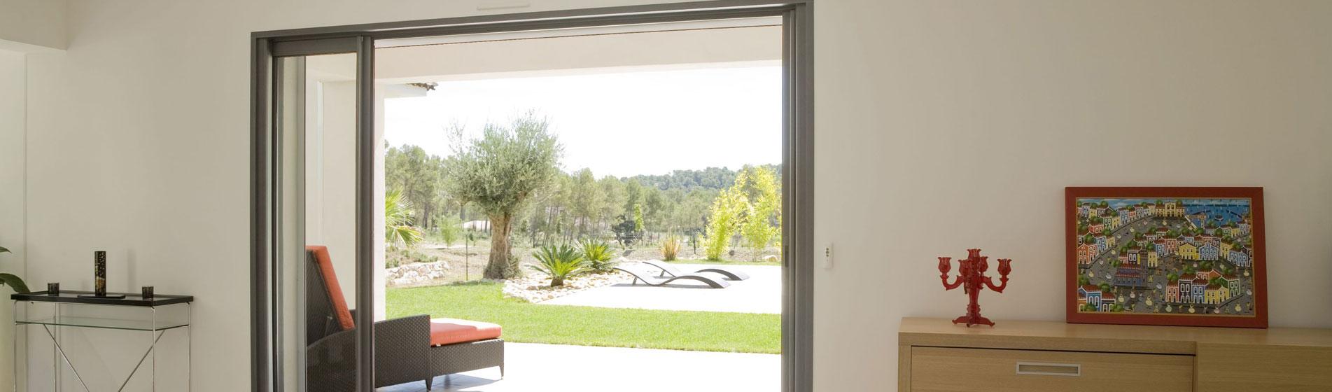 installer baie vitrée sur-mesure 84 Vaucluse