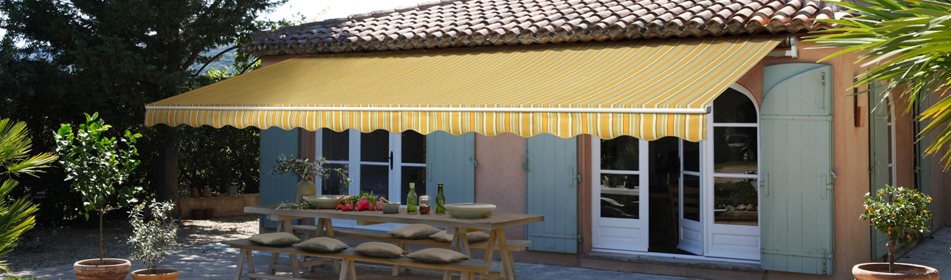 acheter store banne jardin 30 Gard