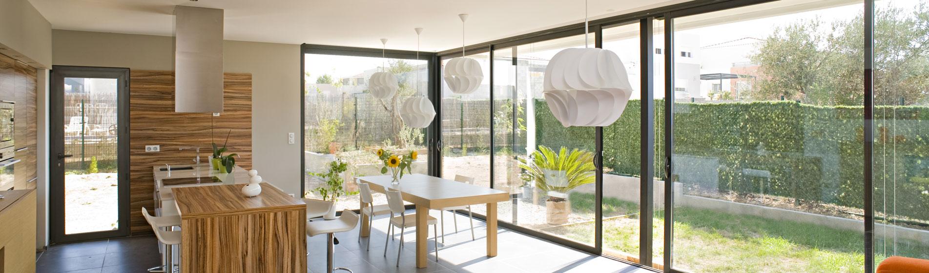 fabricant baie vitrée alu 84 Vaucluse